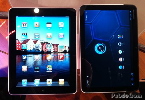 iPad et Xoom