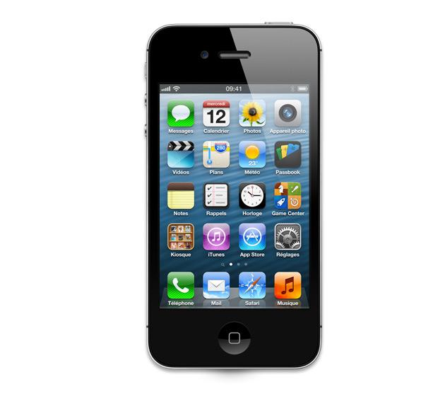 apple iphone 4s 16go noir pubdecom. Black Bedroom Furniture Sets. Home Design Ideas