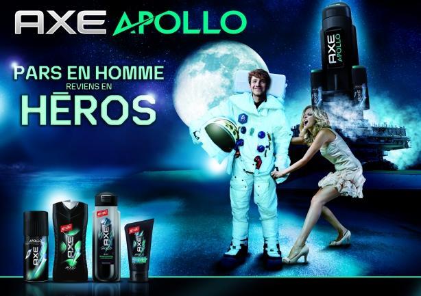 La nouvelle campagne Axe : Axe Apollo