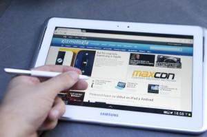 Le Samsung Galaxy Note 10.1 séduit avec son stylet