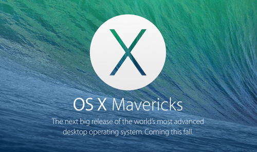 OS X mavericks - 500 - PubdeCom