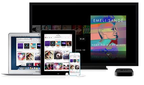 iTunes Radio sur toutes les plateformes Apple (disponible aussi sur PC)