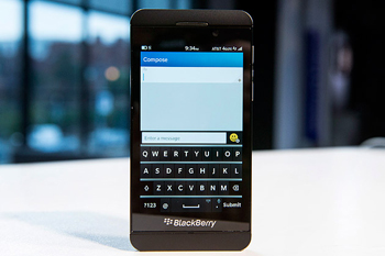 Le Blackberry Z10, enfin un smartphone séduisant made by Blackberry !