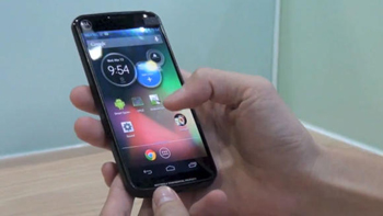 Le Moto X, futur smartphone de Motorola mis en avant par Google