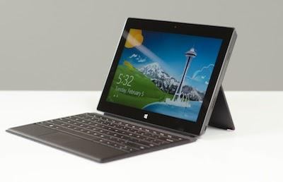 La Surface 2 comble les défauts de la première génération
