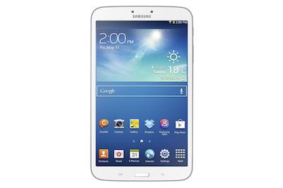 La Galaxy Tab 8.0 attire par son format original