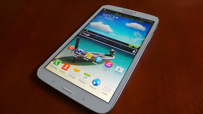 La Samsung Galaxy Tab 8.0 est un produit séduisant, mais moyen de gamme