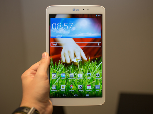 Le LG G Pad 8.3 dans toute sa splendeur