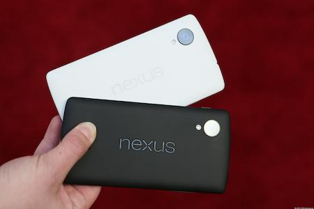 Nexus 5 - façade arrière