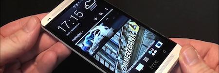 Le HTC One est esthétique et est équipé d'un vrai son stéréo