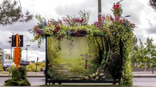Les abribus se v g talisent nantes avec les floralies pubdecom - Jardin romantique definition nantes ...