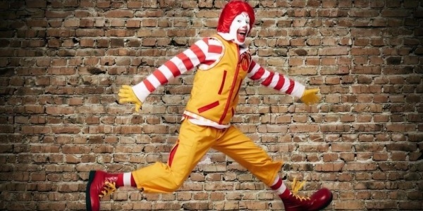 Ancienne combinaison de Ronald Macdonald's