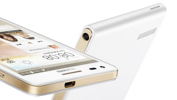 Le design du Huawei Ascend P7 tient la dragée haute aux smartphones haut de gamme