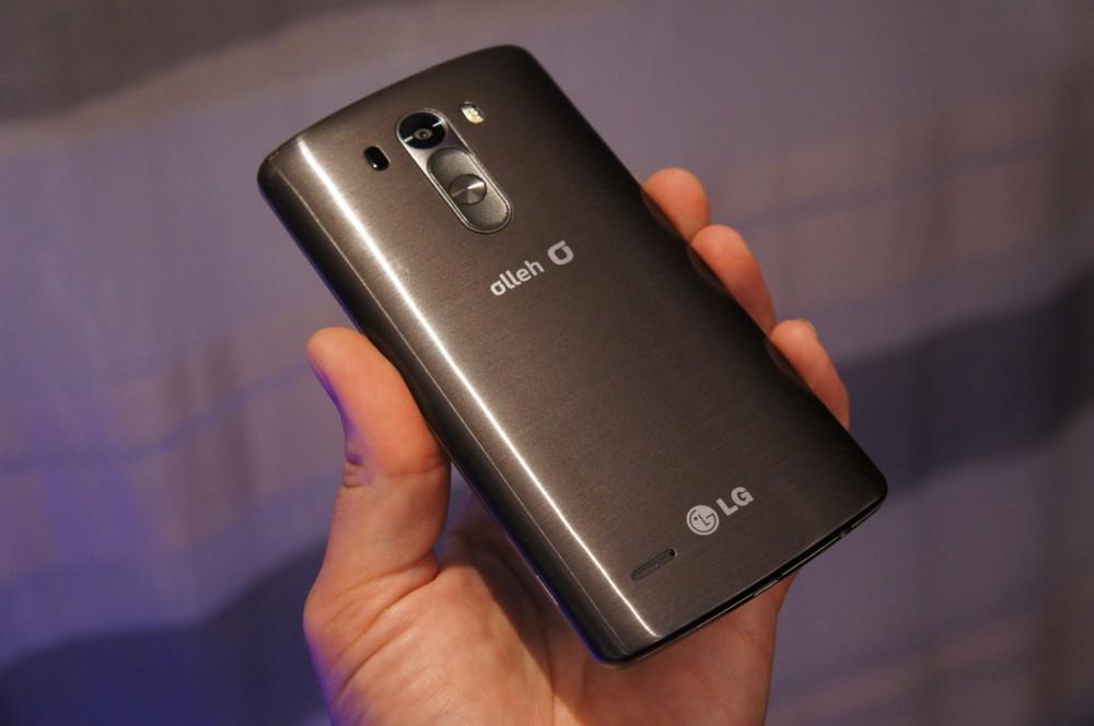 Façade arrière du LG G3
