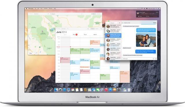 OS X Yosemite a un design qui se rapproche de celui d'iOS 8