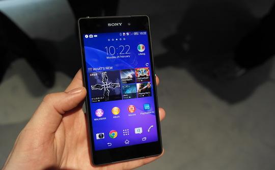 Sony voit grand avec le Xperia Z2