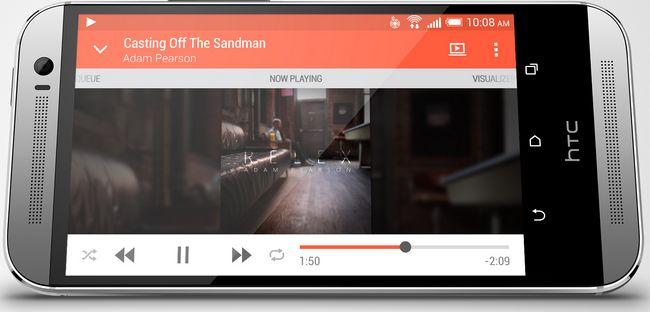 Le HTC One M2 séduit par son grand écran