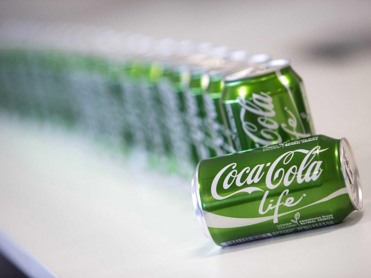 Le Coca-Cola Life sera lancé en janvier 2015 pour conquérir les 35 ans et plus