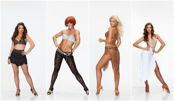 Les danseuses de Danse avec les stars sur TF1