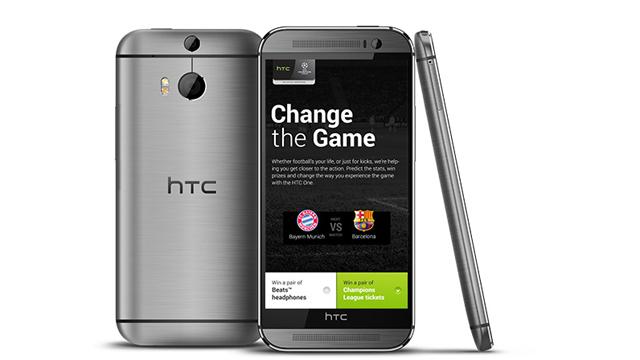 HTC propose le meilleur smartphone sous Android en 2015 : le HTC One  M8