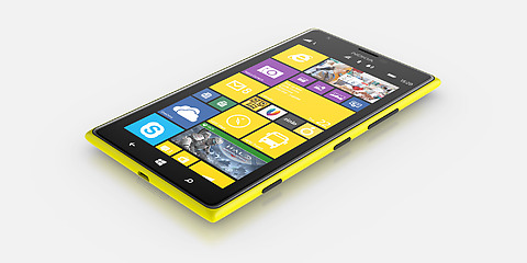 Le design cher à Nokia est toujours aussi tendance avec le Lumia 1520
