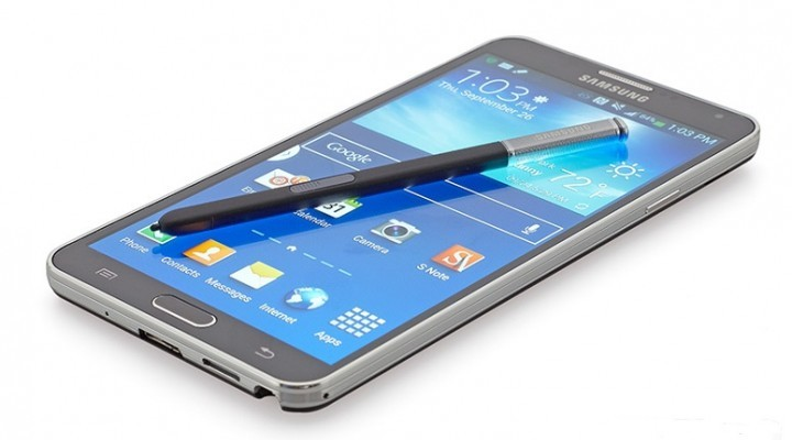 Le Samsung Galaxy Note 4 est impressionnant par sa grandeur et la qualité de son stylet