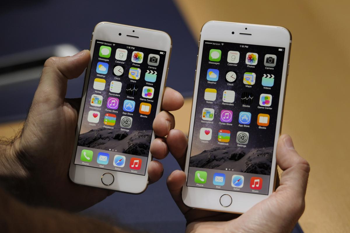Le design de l'iPhone 6 Plus est identique à celui de l'iPhone 6
