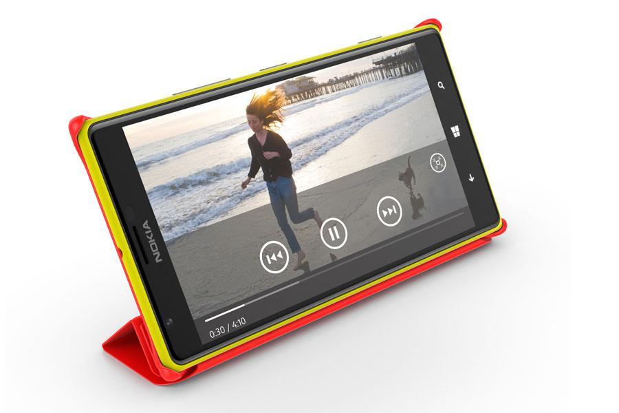 Regarder des vidéos sur le Lumia 1520 est très agréable !