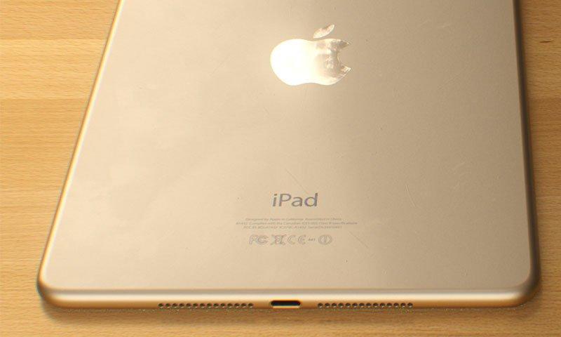 La version Or fait son apparition dans la gamme Mini de l'iPad