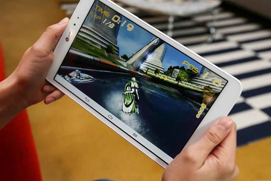 Le LG G Pad 8.3 est une tablette polyvalente
