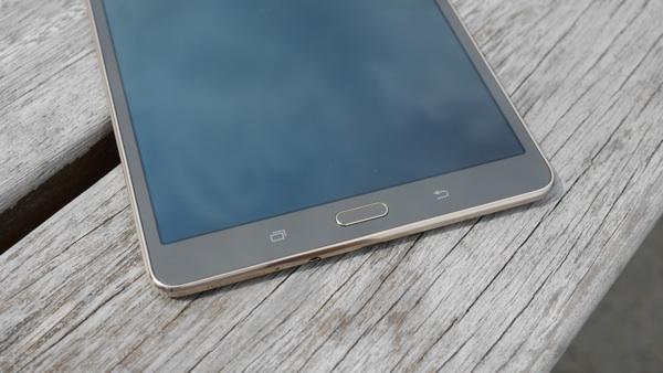 La Samsung Galaxy Tab 8.4 est équipée d'un lecteur d'empreintes digitales