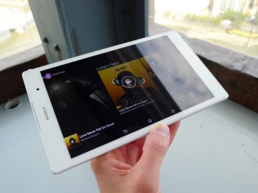La Xperia Z3 Tablet joue la carte de l'étanchéité et de la légèreté