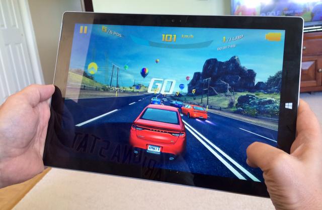 Les jeux tournent correctement sur la Surface Pro 3, sauf ceux qui sont les plus gourmands. Oubliez Battlefield 4 !
