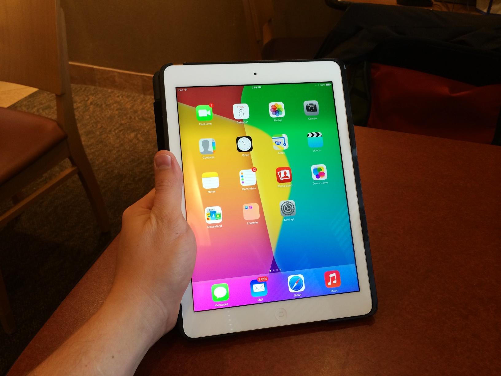 L'absence du Touch ID n'est pas un problème majeur pour l'iPad Air 1