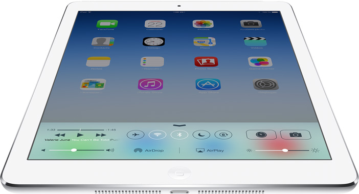 L'atout principal de l'iPad Air : le design et la finition