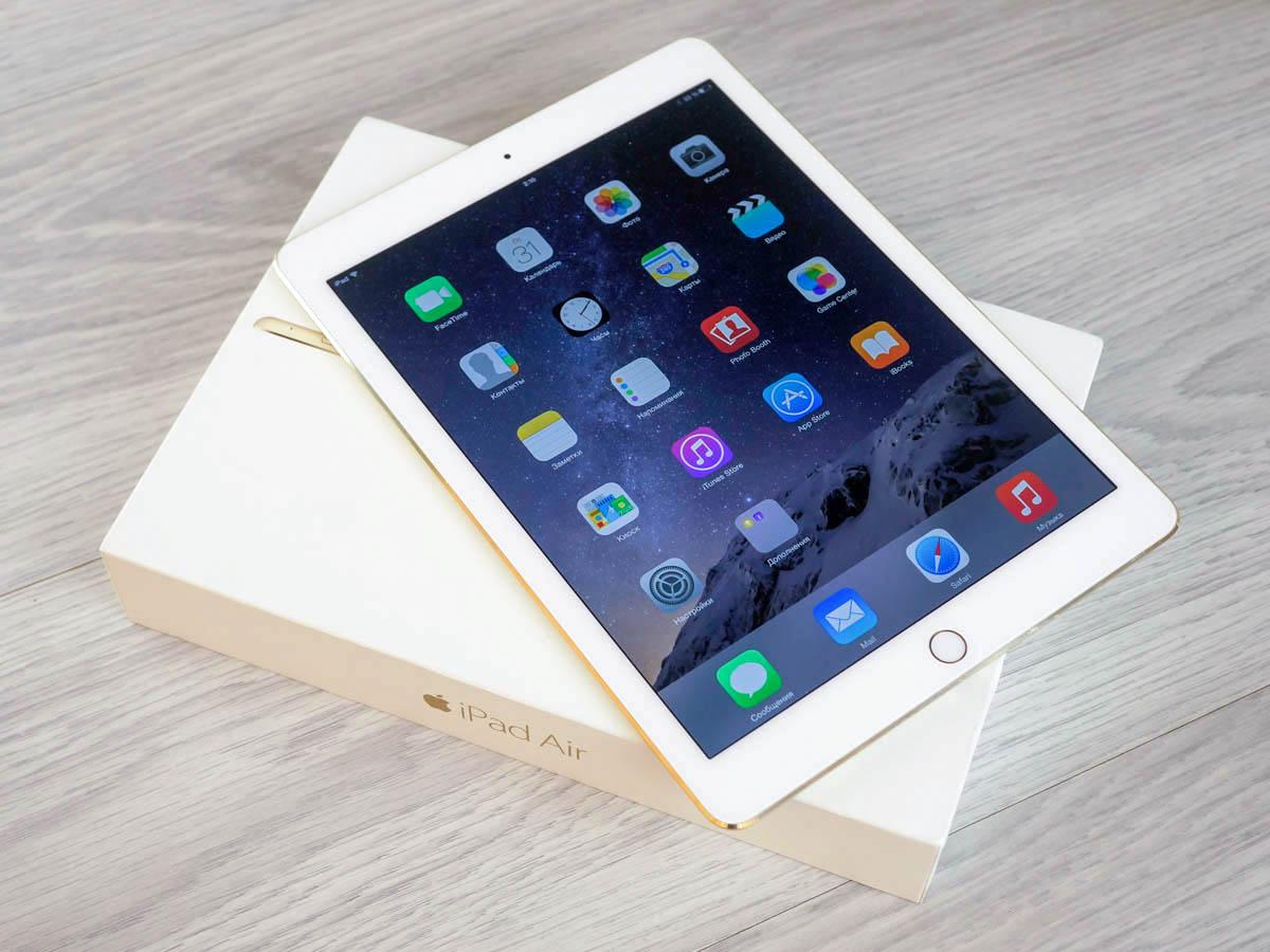 L'iPad Air 2 est élue tablette de l'année 2015