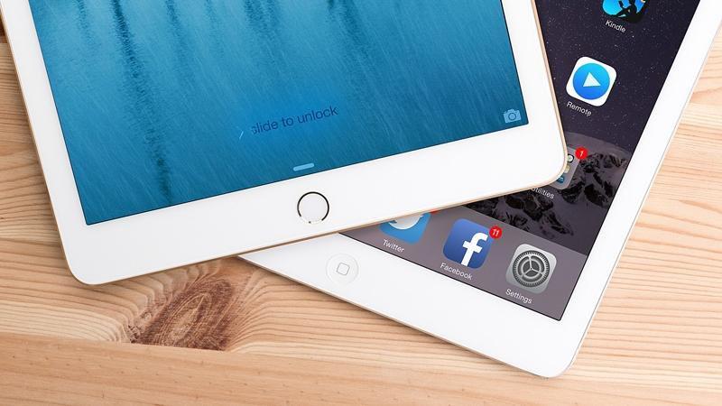 L'iPad Air 2 intègre le Touch ID