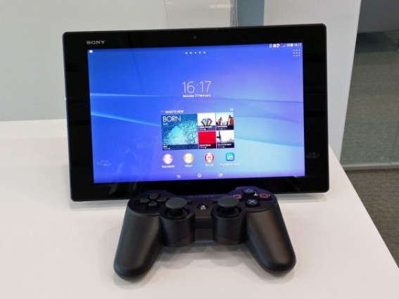 Il est possible de jouer à sa PS4 via la Sony Xperia Z2 Tablet