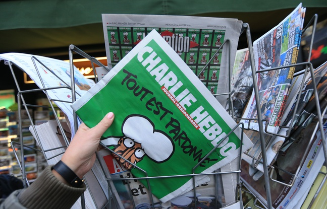 L'édition du 14 janvier 2015 du Charlie Hebdo est un succès historique