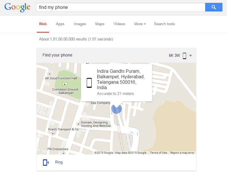 googlefindmyphone