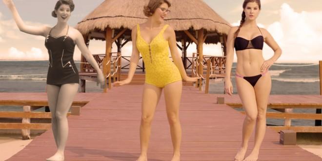 L'évolution du maillot de bain fait le buzz sur le Web!