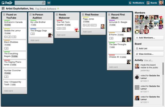 Trello : l'outil de brainstorming et d'organisation du calendrier éditorial