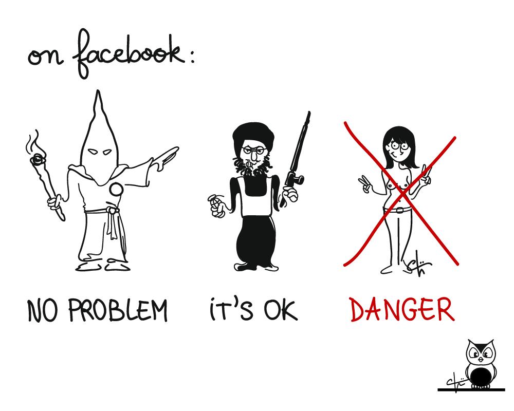 """Résultat de recherche d'images pour """"facebook censure"""""""