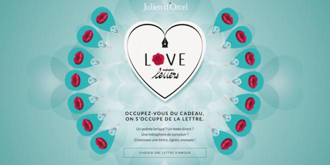Love Letters: Julien d'Orcel vous aide à déclarer votre flamme !