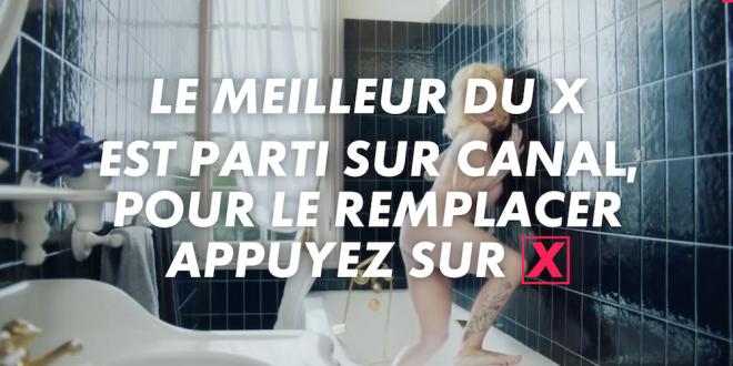 Canal + propose une campagne osée pour promouvoir ses programmes pornos