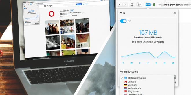 Opera 40 propose un VPN gratuit et illimité pour surfer en toute sécurité!