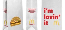 Mcdonald's : nouveau design pour ses sacs à emporter