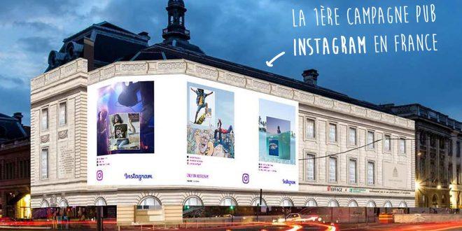 Instagram lance sa première campagne en France