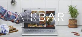 AirBar: l'écran de votre ordinateur devient tactile!